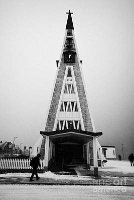 Hammerfest Church Finnmark Norway Europe Poster