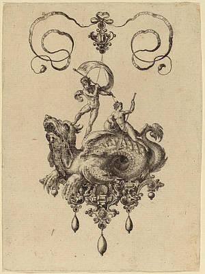 Hans Collaert Flemish, 1566 - 1628, Jewelry Design Poster