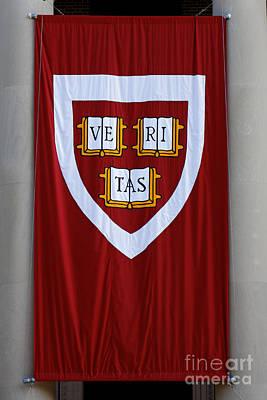 Harvard Veritas Banner Poster
