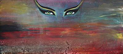 Hathor Poster by Stacey Austin