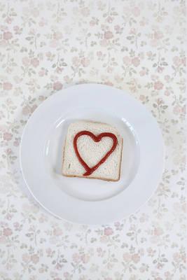 Hearty Toast Poster by Joana Kruse