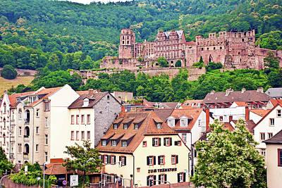 Heidelberg, Germany, Heidelberg Castle Poster by Miva Stock