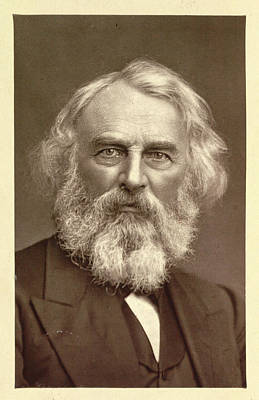 Henry Wadsworth Longfellow Poster by British Library