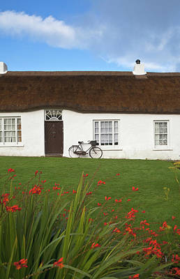 Hezletts Picturesque Thatched Cottage Poster