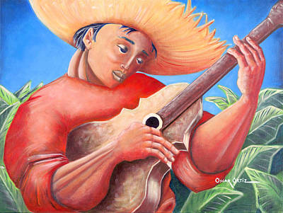 Hidalgo Campesino Poster by Oscar Ortiz