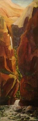 Hidden Canyon Poster