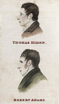 Hiden And Adams, British Conspirators Poster by Middle Temple Library
