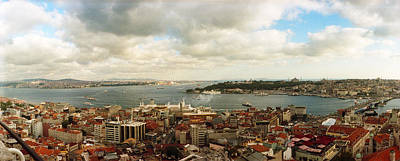 High Angle View Of A City, Istanbul Poster by Panoramic Images