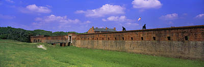 High Angle View Of A Fort, Fort Clinch Poster