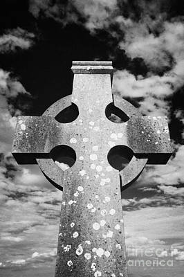 High Stone Celtic Cross Rock Of Cashel Tipperary Ireland Poster by Joe Fox