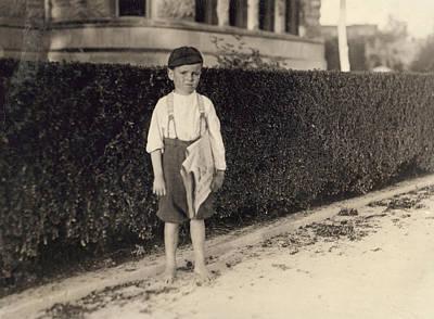 Hine Newsboy, 1913 Poster