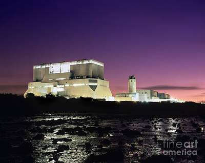 Hinkley Point Nuclear Power Station Poster by Martin Bond