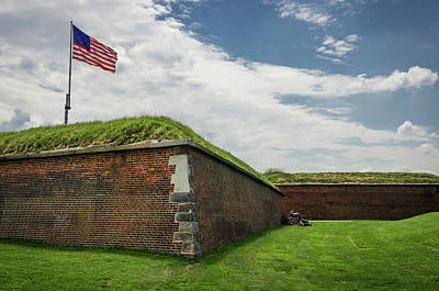 Historic Fort Mchenry, Birthplace Poster