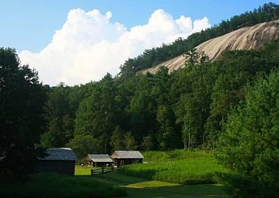Historic Mountain Homestead Poster