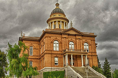 Historic Placer County Courthouse Poster by Jim Thompson
