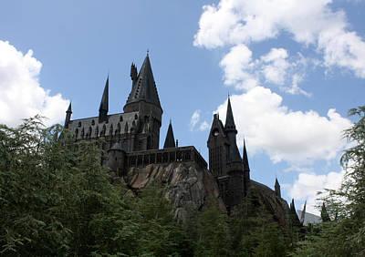 Hogwarts Castle Poster by David Nicholls