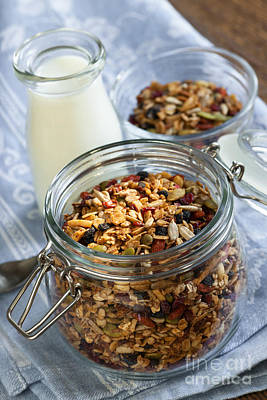 Homemade Toasted Granola Poster