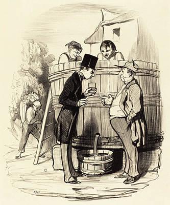 Honoré Daumier French, 1808 - 1879, Comment Trouvez-vous Poster by Quint Lox