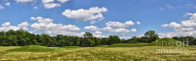 Hopewell Culture National Historical Park Poster by Brian Mollenkopf