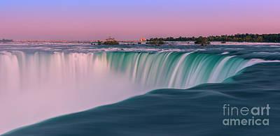 Horseshoe Falls Is A Part Of The Niagara Falls Poster