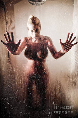 Hot Shower Poster by Jt PhotoDesign