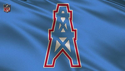 Houston Oilers Uniform Poster
