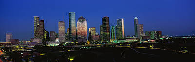 Houston Tx Poster by Panoramic Images
