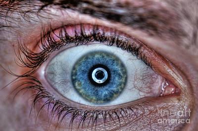 Human Eye Poster by Guy Viner