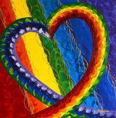 I Am Love Poster by Judy M Watts-Rohanna