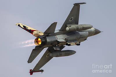 Iaf F-16a Poster