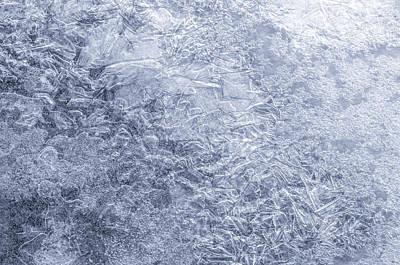 Ice On Minnehaha Creek 1 Poster