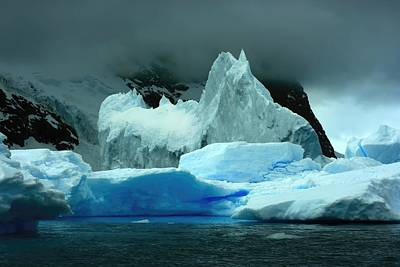 Poster featuring the photograph Iceberg by Amanda Stadther
