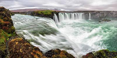 Iceland, Godafoss Poster