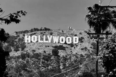 Iconic Hollywood Sign Poster by Mountain Dreams
