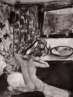 Illustration From La Maison Tellier By Guy De Maupassant  Poster by Edgar Degas
