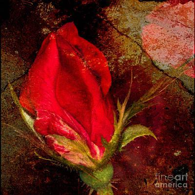 Impressionistic Rose Poster