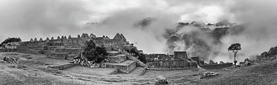 Inca City Of Machu Picchu, Urubamba Poster by Panoramic Images