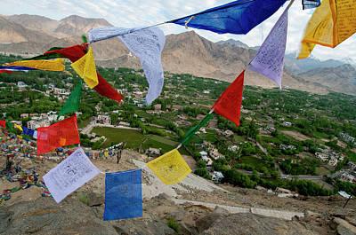India, Ladakh, Leh, Capital Of Ladakh Poster
