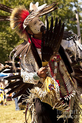Indian Nation Pow Wow Dancers    Poster