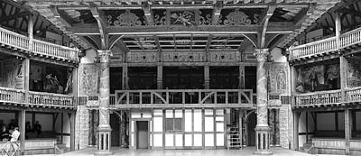 Interiors Of A Stage Theater, Globe Poster