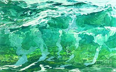 Into The Sea Poster by Carina Mascarelli