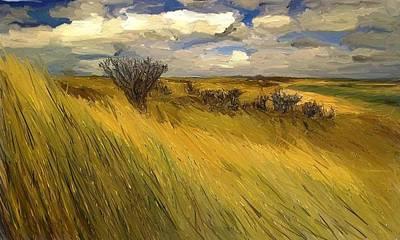 Iowa Prairie Grasses  Poster