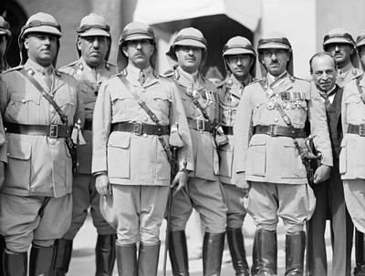 Iraq British Officers Poster