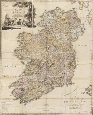 Ireland Poster by British Library