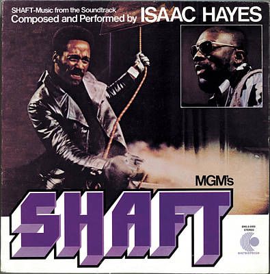 Isaac Hayes -  Shaft Poster