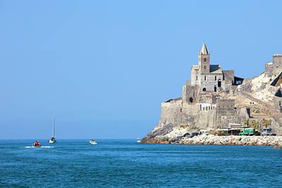 Italy, Liguria, La Spezia, Golfo Dei Poster by Panoramic Images