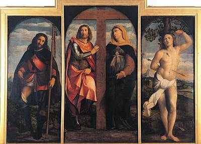 Italy, Lombardy, Milan, Brera Art Poster