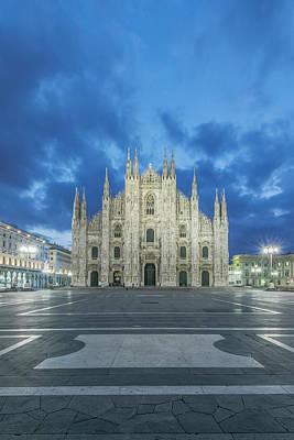 Italy, Milan, Cathedral (duomo Di Milano Poster by Rob Tilley