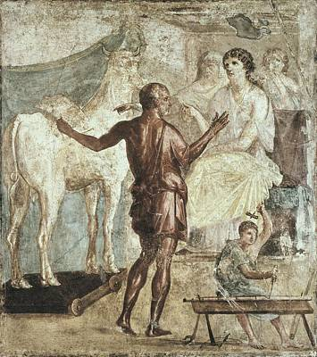 Italy. Pompeii. House Of The Vettii Poster by Everett