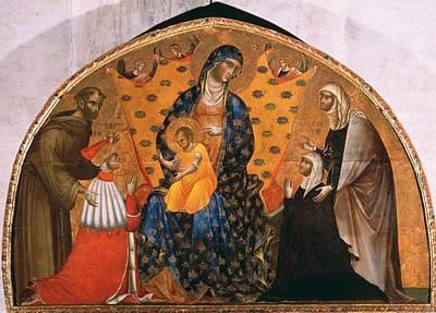 Italy, Veneto, Venice, Santa Maria Poster by Everett